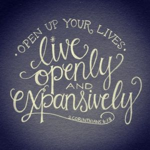 live openly, vulnerability,